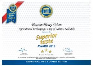 blossom award 2015